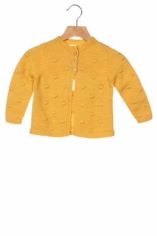 Παιδική ζακέτα Little Celebs, Μέγεθος 18-24m/ 86-98 εκ., Χρώμα Κίτρινο, 100%ακρυλικό, Τιμή 22,68€