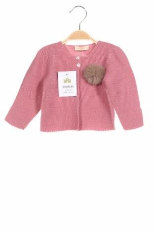 Παιδική ζακέτα Lola Palacios, Μέγεθος 18-24m/ 86-98 εκ., Χρώμα Ρόζ , Άλλα υλικά, Τιμή 23,71€