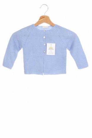 Παιδική ζακέτα Lola Palacios, Μέγεθος 18-24m/ 86-98 εκ., Χρώμα Μπλέ, Άλλα υλικά, Τιμή 25,26€