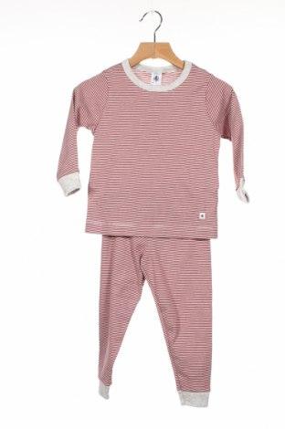 Παιδική πιτζάμα Petit Bateau, Μέγεθος 18-24m/ 86-98 εκ., Χρώμα Κόκκινο, Βαμβάκι, Τιμή 17,18€