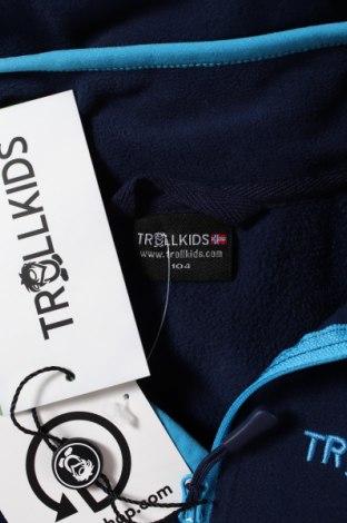 Детска поларена блуза Trollkids, Размер 2-3y/ 98-104 см, Цвят Син, Полиестер, Цена 27,30лв.