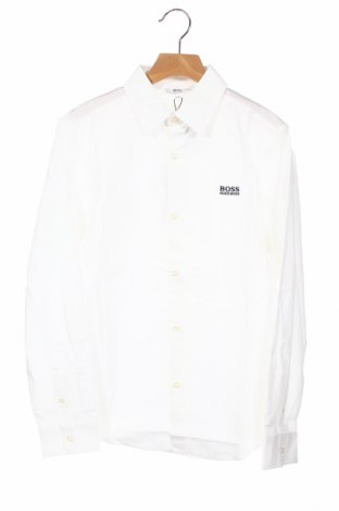 Παιδικό πουκάμισο Hugo Boss, Μέγεθος 12-13y/ 158-164 εκ., Χρώμα Λευκό, 100% βαμβάκι, Τιμή 38,27€