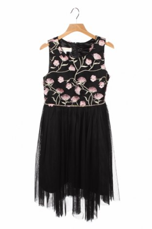 Детска рокля, Размер 9-10y/ 140-146 см, Цвят Черен, Полиестер, Цена 12,74лв.