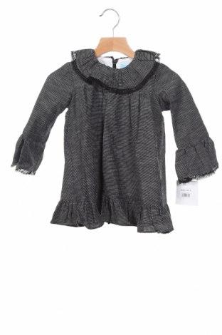Детска рокля Tartaleta, Размер 2-3y/ 98-104 см, Цвят Черен, 100% памук, Цена 29,40лв.