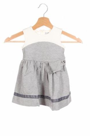 Παιδικό φόρεμα Artigli, Μέγεθος 6-9m/ 68-74 εκ., Χρώμα Γκρί, 60% βισκόζη, 35% πολυαμίδη, 5% ελαστάνη, Τιμή 30,54€