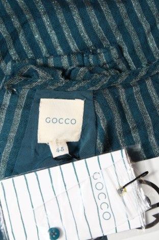 Детска рокля Gocco, Размер 4-5y/ 110-116 см, Цвят Син, 94% памук, 4% полиестер, 2% еластан, Цена 27,72лв.