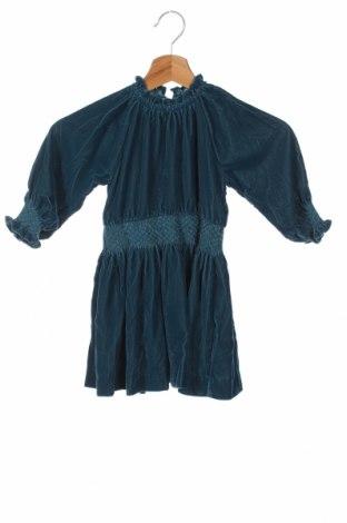 Детска рокля Gocco, Размер 2-3y/ 98-104 см, Цвят Син, Полиестер, Цена 48,30лв.