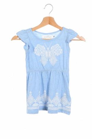 Детска рокля H&M L.o.g.g, Размер 18-24m/ 86-98 см, Цвят Син, 60% памук, 40% полиестер, Цена 23,04лв.