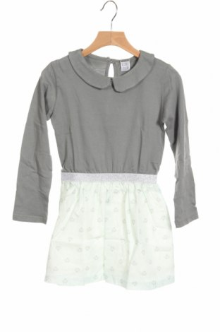 Детска рокля Little Celebs, Размер 5-6y/ 116-122 см, Цвят Сив, Памук, Цена 24,50лв.