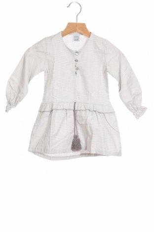 Детска рокля Little Celebs, Размер 18-24m/ 86-98 см, Цвят Бял, Памук, Цена 36,75лв.