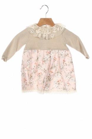 Детска рокля Little Celebs, Размер 12-18m/ 80-86 см, Цвят Розов, Памук, Цена 34,30лв.