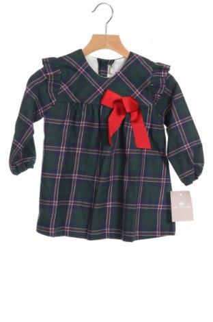 Детска рокля Lola Palacios, Размер 18-24m/ 86-98 см, Цвят Многоцветен, 50% памук, 50% полиестер, Цена 29,50лв.