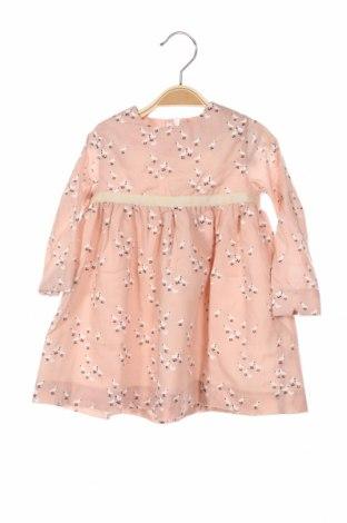 Детска рокля Lola Palacios, Размер 2-3y/ 98-104 см, Цвят Розов, 80% памук, 20% полиестер, Цена 44,25лв.