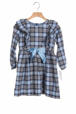 Детска рокля Lola Palacios, Размер 5-6y/ 116-122 см, Цвят Сив, 60% памук, 40% полиестер, Цена 41,30лв.
