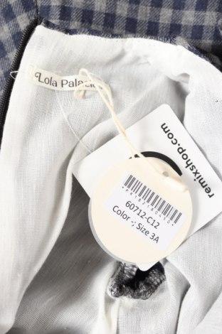 Детска рокля Lola Palacios, Размер 2-3y/ 98-104 см, Цвят Сив, 60% памук, 40% вискоза, Цена 35,40лв.