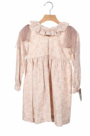 Детска рокля Lola Palacios, Размер 12-18m/ 80-86 см, Цвят Пепел от рози, 50% памук, 50% полиестер, Цена 29,50лв.