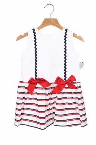 Παιδικό φόρεμα Lola Palacios, Μέγεθος 3-4y/ 104-110 εκ., Χρώμα Λευκό, Βαμβάκι, Τιμή 17,64€