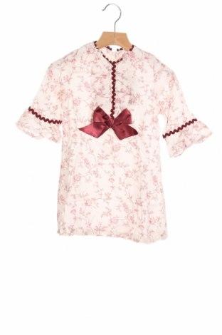 Детска рокля Lola Palacios, Размер 3-4y/ 104-110 см, Цвят Бял, Вискоза, Цена 40,12лв.