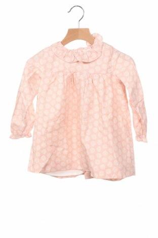 Детска рокля Lola Palacios, Размер 18-24m/ 86-98 см, Цвят Розов, 52% памук, 48% вискоза, Цена 32,45лв.