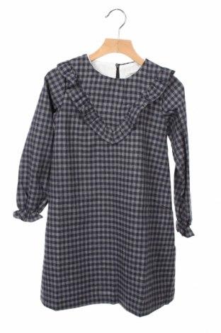 Детска рокля Lola Palacios, Размер 7-8y/ 128-134 см, Цвят Сив, 60% памук, 40% вискоза, Цена 35,40лв.