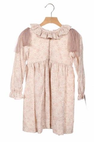 Детска рокля Lola Palacios, Размер 3-4y/ 104-110 см, Цвят Пепел от рози, 50% памук, 50% полиестер, Цена 29,50лв.