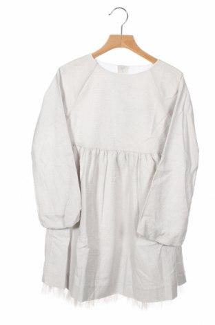 Детска рокля Neck & Neck, Размер 7-8y/ 128-134 см, Цвят Сив, 92% памук, 8% полиестер, Цена 29,50лв.