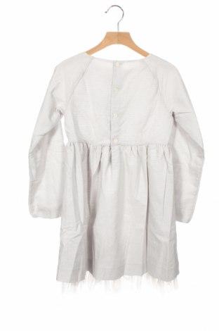 Детска рокля Neck & Neck, Размер 2-3y/ 98-104 см, Цвят Сив, 92% памук, 8% полиестер, Цена 29,50лв.