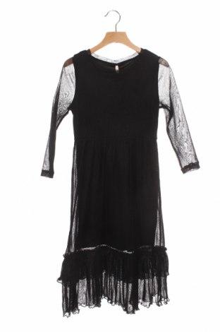 Детска рокля Only Kids, Размер 6-7y/ 122-128 см, Цвят Черен, 60% полиамид, 40% метални нишки, Цена 35,36лв.