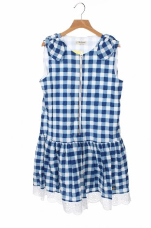 Детска рокля Pili Carrera, Размер 11-12y/ 152-158 см, Цвят Син, Памук, Цена 81,75лв.