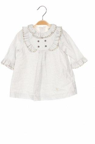 Детска рокля Pili Carrera, Размер 6-9m/ 68-74 см, Цвят Сив, Памук, Цена 49,05лв.
