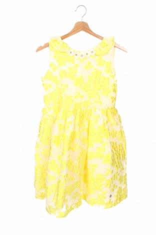 Детска рокля Pili Carrera, Размер 10-11y/ 146-152 см, Цвят Жълт, 72% полиестер, 28% полиамид, Цена 69,02лв.