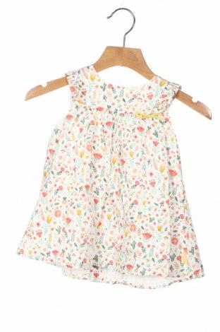Детска рокля Tutto Piccolo, Размер 9-12m/ 74-80 см, Цвят Многоцветен, Памук, Цена 16,17лв.
