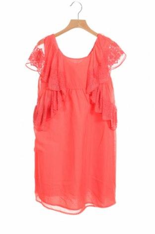 Детска рокля Tutto Piccolo, Размер 10-11y/ 146-152 см, Цвят Розов, Полиестер, Цена 16,17лв.