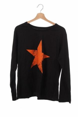 Детска блуза Hanes, Размер 15-18y/ 170-176 см, Цвят Черен, Памук, Цена 10,08лв.