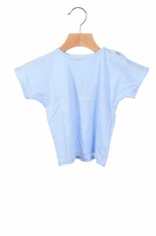 Детска тениска Little Celebs, Размер 9-12m/ 74-80 см, Цвят Син, 100% памук, Цена 21,00лв.