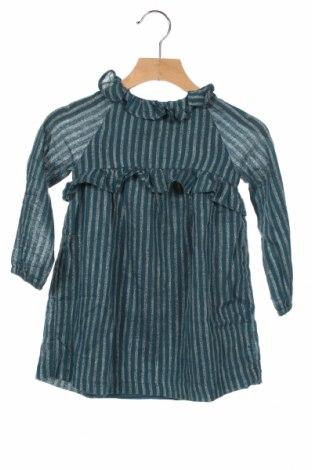 Παιδικό τουνίκ Gocco, Μέγεθος 2-3y/ 98-104 εκ., Χρώμα Μπλέ, 94% βαμβάκι, 4% πολυεστέρας, 2% μεταλλικά νήματα, Τιμή 16,12€