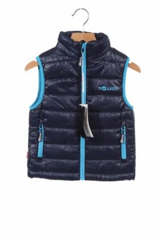 Παιδικό γιλέκο Trollkids, Μέγεθος 3-4y/ 104-110 εκ., Χρώμα Μπλέ, Πολυεστέρας, Τιμή 17,18€