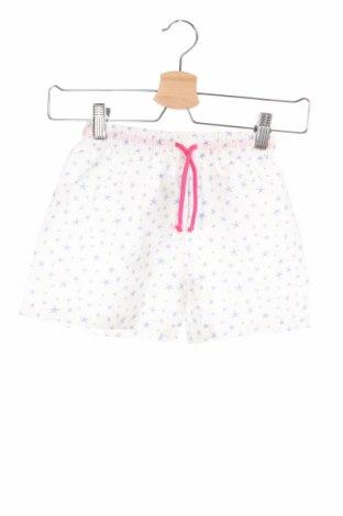 Παιδικό κοντό παντελόνι Little Celebs, Μέγεθος 4-5y/ 110-116 εκ., Χρώμα Λευκό, Πολυεστέρας, Τιμή 7,64€