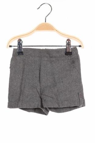 Детски къс панталон Pili Carrera, Размер 3-6m/ 62-68 см, Цвят Сив, 50% памук, 50% вискоза, Цена 3,45лв.