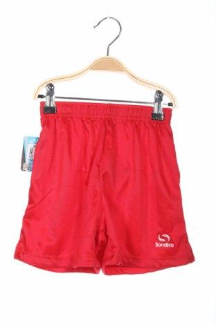 Детски къс панталон Sondico, Размер 3-4y/ 104-110 см, Цвят Червен, Полиестер, Цена 4,80лв.