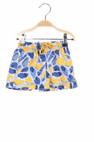 Детски къс панталон Tutto Piccolo, Размер 6-7y/ 122-128 см, Цвят Многоцветен, 100% полиестер, Цена 12,60лв.