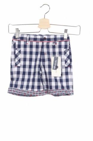 Детски къс панталон Tutto Piccolo, Размер 5-6y/ 116-122 см, Цвят Син, 100% памук, Цена 14,52лв.