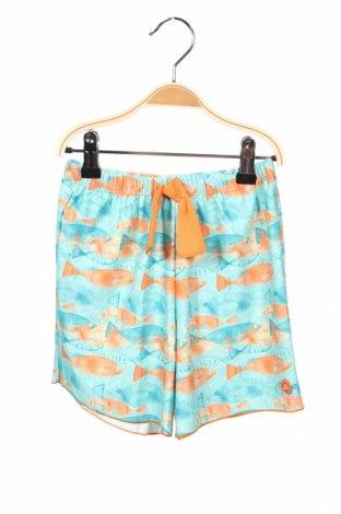 Παιδικό κοντό παντελόνι Tutto Piccolo, Μέγεθος 10-11y/ 146-152 εκ., Χρώμα Πολύχρωμο, 90% πολυαμίδη, 10% ελαστάνη, Τιμή 10,77€