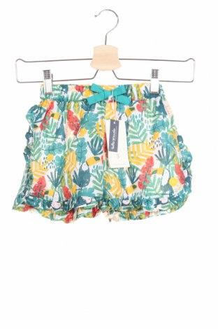 Детски къс панталон Tutto Piccolo, Размер 10-11y/ 146-152 см, Цвят Многоцветен, Памук, Цена 13,86лв.