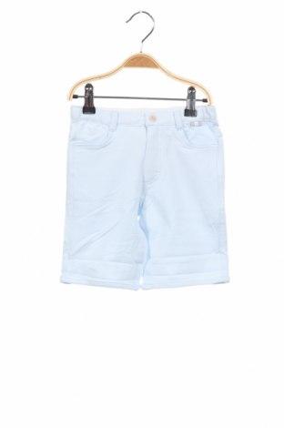 Детски къс панталон Tutto Piccolo, Размер 3-4y/ 104-110 см, Цвят Син, 95% памук, 5% еластан, Цена 12,54лв.