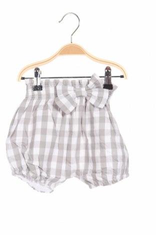 Детски къс панталон Tutto Piccolo, Размер 12-18m/ 80-86 см, Цвят Сив, Памук, Цена 13,86лв.