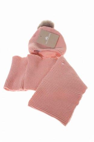 Детски комплект Lola Palacios, Цвят Розов, Акрил, естествен косъм, Цена 17,48лв.