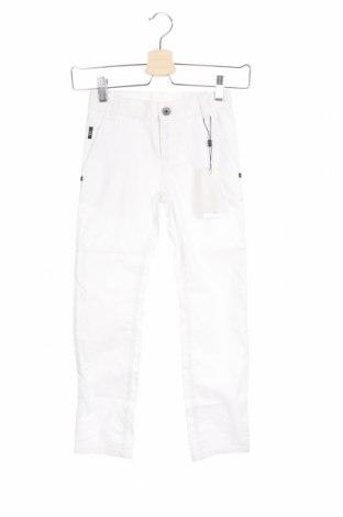 Dziecięce spodnie Hugo Boss, Rozmiar 6-7y/ 122-128 cm, Kolor Biały, Bawełna, Cena 278,25zł