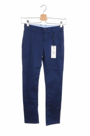 Dziecięce spodnie Hugo Boss, Rozmiar 7-8y/ 128-134 cm, Kolor Niebieski, 98% bawełna, 2% elastyna, Cena 278,25zł