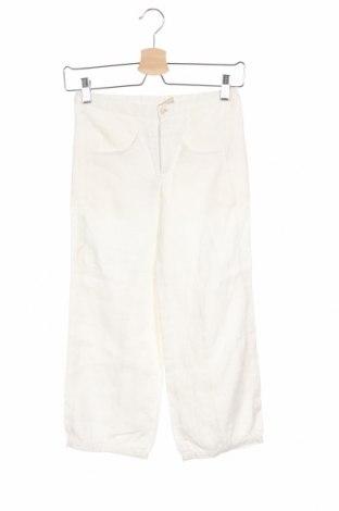 Детски панталон Noa Noa, Размер 9-10y/ 140-146 см, Цвят Бял, Лен, Цена 20,80лв.